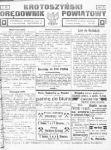 Krotoszyński Orędownik Powiatowy 1920 R.72 Nr62