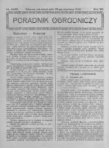 Poradnik Ogrodniczy. 1926.06.20 R.7 nr24-25