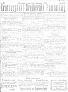 Krotoszyński Orędownik Powiatowy 1920.11.13 R.72 Nr87