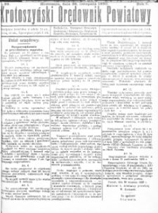 Krotoszyński Orędownik Powiatowy 1920.11.26 R.72 Nr89