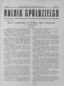 Rolnik Spółdzielca. 1930.06.22 R.7 nr13