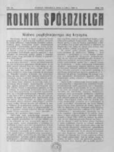 Rolnik Spółdzielca. 1930.07.06 R.7 nr14