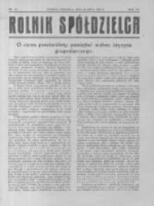 Rolnik Spółdzielca. 1930.07.20 R.7 nr15