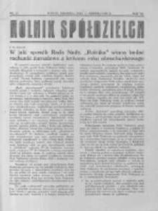 Rolnik Spółdzielca. 1930.08.17 R.7 nr17