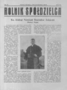 Rolnik Spółdzielca. 1930.09.28 R.7 nr20