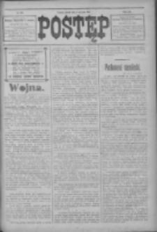 Postęp 1914.08.07 R.25 Nr179