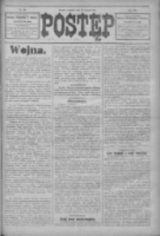Postęp 1914.08.20 R.25 Nr189