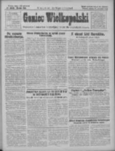 Goniec Wielkopolski: najtańsze pismo codzienne dla wszystkich stanów 1928.09.22 R.51 Nr219