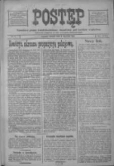 Postęp: narodowe pismo katolicko-ludowe niezależne pod każdym względem 1917.01.02 R.28 Nr1