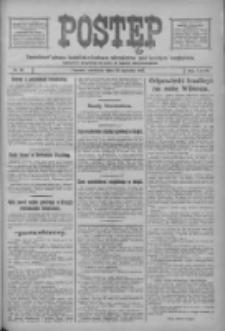 Postęp: narodowe pismo katolicko-ludowe niezależne pod każdym względem 1917.01.14 R.28 Nr10