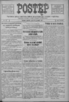 Postęp: narodowe pismo katolicko-ludowe niezależne pod każdym względem 1917.01.20 R.28 Nr15