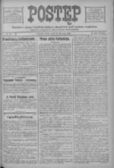 Postęp: narodowe pismo katolicko-ludowe niezależne pod każdym względem 1917.01.24 R.28 Nr18