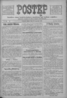 Postęp: narodowe pismo katolicko-ludowe niezależne pod każdym względem 1917.01.26 R.28 Nr20