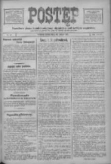 Postęp: narodowe pismo katolicko-ludowe niezależne pod każdym względem 1917.02.21 R.28 Nr41