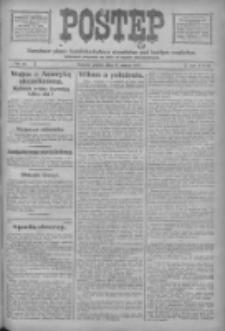 Postęp: narodowe pismo katolicko-ludowe niezależne pod każdym względem 1917.03.09 R.28 Nr55