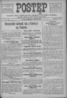 Postęp: narodowe pismo katolicko-ludowe niezależne pod każdym względem 1917.08.01 R.28 Nr172