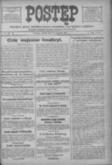 Postęp: narodowe pismo katolicko-ludowe niezależne pod każdym względem 1917.08.11 R.28 Nr181