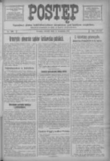 Postęp: narodowe pismo katolicko-ludowe niezależne pod każdym względem 1917.09.04 R.28 Nr200