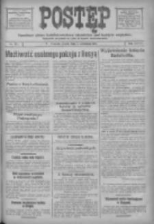 Postęp: narodowe pismo katolicko-ludowe niezależne pod każdym względem 1917.09.07 R.28 Nr203