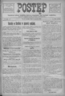 Postęp: narodowe pismo katolicko-ludowe niezależne pod każdym względem 1917.09.08 R.28 Nr204