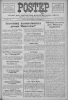 Postęp: narodowe pismo katolicko-ludowe niezależne pod każdym względem 1917.09.13 R.28 Nr208