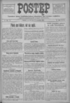 Postęp: narodowe pismo katolicko-ludowe niezależne pod każdym względem 1917.09.15 R.28 Nr210
