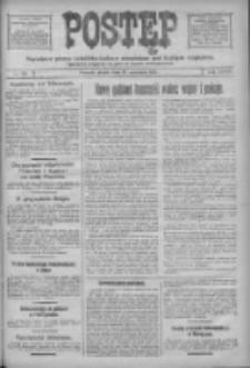 Postęp: narodowe pismo katolicko-ludowe niezależne pod każdym względem 1917.09.21 R.28 Nr215