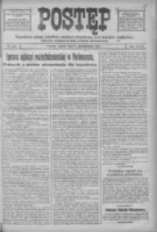 Postęp: narodowe pismo katolicko-ludowe niezależne pod każdym względem 1917.10.09 R.28 Nr230