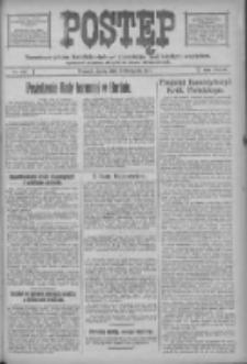 Postęp: narodowe pismo katolicko-ludowe niezależne pod każdym względem 1917.11.07 R.28 Nr254