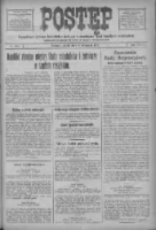 Postęp: narodowe pismo katolicko-ludowe niezależne pod każdym względem 1917.11.09 R.28 Nr256
