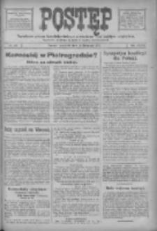 Postęp: narodowe pismo katolicko-ludowe niezależne pod każdym względem 1917.11.15 R.28 Nr261