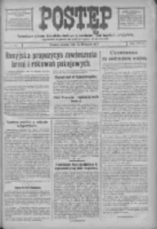 Postęp: narodowe pismo katolicko-ludowe niezależne pod każdym względem 1917.11.24 R.28 Nr268