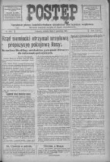 Postęp: narodowe pismo katolicko-ludowe niezależne pod każdym względem 1917.12.01 R.28 Nr274