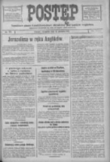 Postęp: narodowe pismo katolicko-ludowe niezależne pod każdym względem 1917.12.13 R.28 Nr283