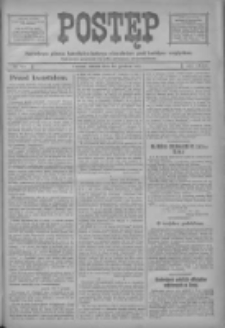 Postęp: narodowe pismo katolicko-ludowe niezależne pod każdym względem 1917.12.22 R.28 Nr291