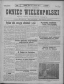 Goniec Wielkopolski: najtańsze pismo codzienne dla wszystkich stanów 1931.01.03 R.55 Nr2