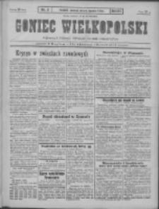 Goniec Wielkopolski: najtańsze pismo codzienne dla wszystkich stanów 1931.01.04 R.55 Nr3
