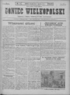 Goniec Wielkopolski: najtańsze pismo codzienne dla wszystkich stanów 1931.01.08 R.55 Nr5