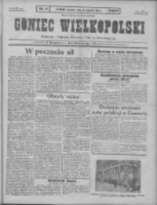 Goniec Wielkopolski: najtańsze pismo codzienne dla wszystkich stanów 1931.01.15 R.55 Nr11