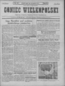 Goniec Wielkopolski: najtańsze pismo codzienne dla wszystkich stanów 1931.01.16 R.55 Nr12