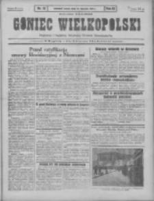 Goniec Wielkopolski: najtańsze pismo codzienne dla wszystkich stanów 1931.01.17 R.55 Nr13