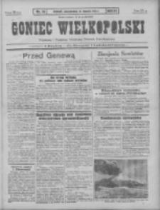 Goniec Wielkopolski: najtańsze pismo codzienne dla wszystkich stanów 1931.01.18 R.55 Nr14