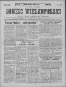 Goniec Wielkopolski: najtańsze pismo codzienne dla wszystkich stanów 1931.01.20 R.55 Nr15