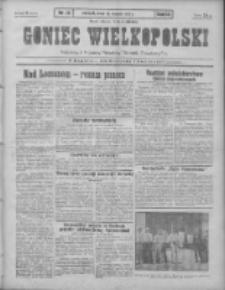 Goniec Wielkopolski: najtańsze pismo codzienne dla wszystkich stanów 1931.01.21 R.55 Nr16