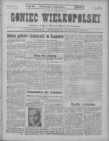 Goniec Wielkopolski: najtańsze pismo codzienne dla wszystkich stanów 1931.01.23 R.55 Nr18