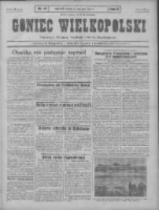 Goniec Wielkopolski: najtańsze pismo codzienne dla wszystkich stanów 1931.01.24 R.55 Nr19