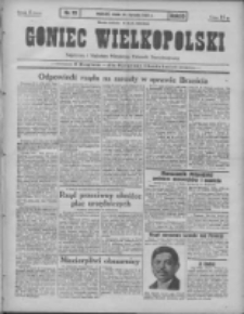 Goniec Wielkopolski: najtańsze pismo codzienne dla wszystkich stanów 1931.01.28 R.55 Nr22