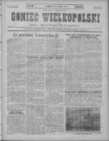 Goniec Wielkopolski: najtańsze pismo codzienne dla wszystkich stanów 1931.02.06 R.55 Nr29