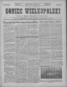 Goniec Wielkopolski: najtańsze pismo codzienne dla wszystkich stanów 1931.02.07 R.55 Nr30