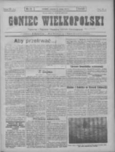 Goniec Wielkopolski: najtańsze pismo codzienne dla wszystkich stanów 1931.02.08 R.55 Nr31